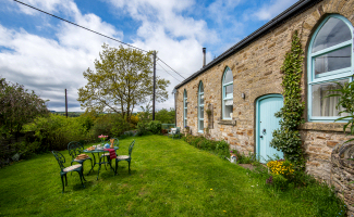 Garden, Finechambers Chapel Holiday Cottage, Hexham, Northumberland