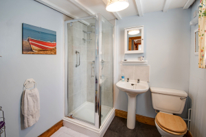 Shower Room, Finechambers Chapel Holiday Cottage, Hexham, Northumberland